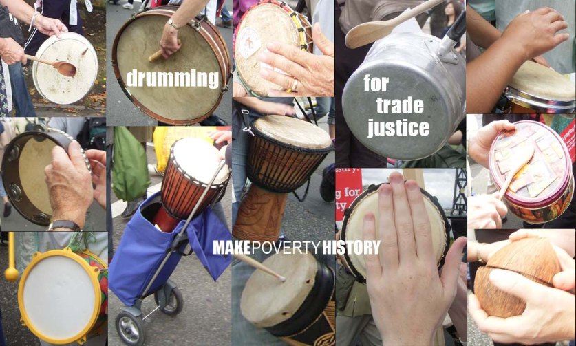 Drumming for Trade Justice